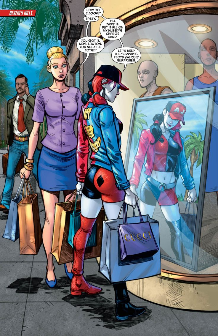 Window Shopping in Harley Quinn #22