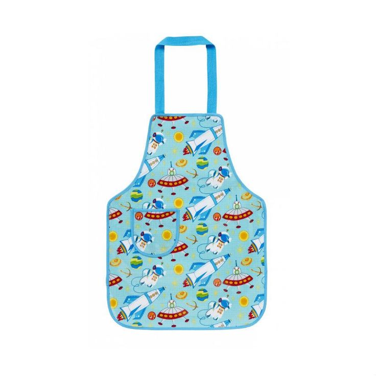 Ulster Weavers Space Child's Children's Apron from shop.bathcakecompany.co.uk - loads of baking supplies for kids online.