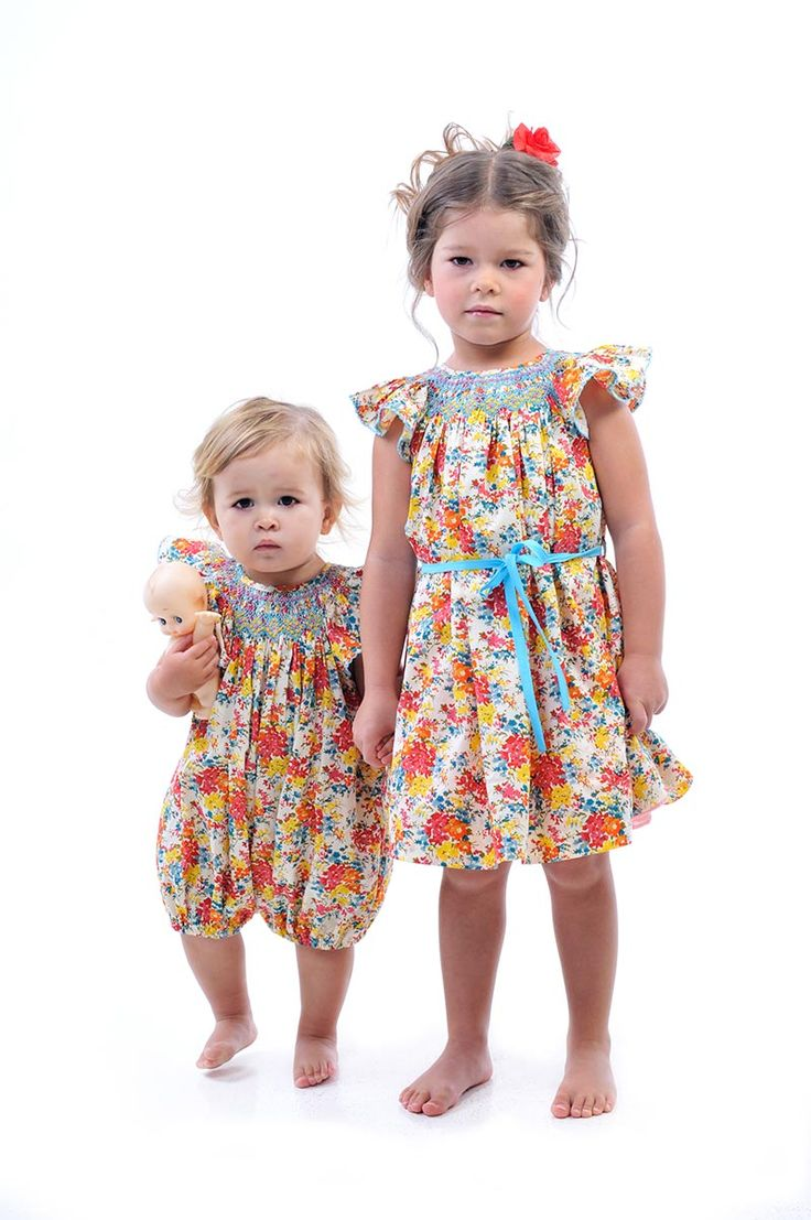 Liberty Romper and  Smock Dress  | Rock Your Baby summer 14 / 15 |  Rock Your Kid summer 14 / 15 |