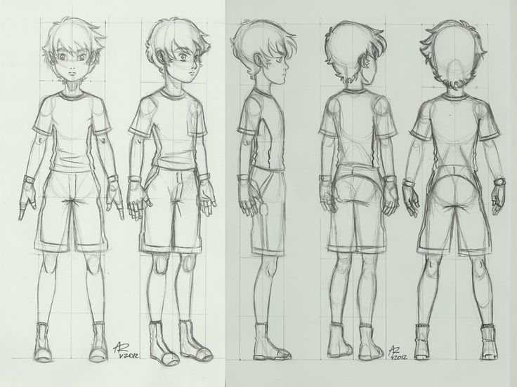 male character reference - photo #42