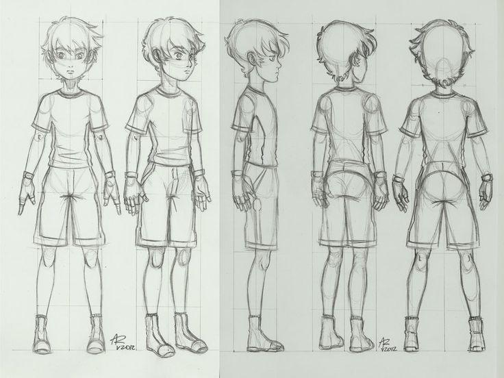 Character turnaround by aleru-92