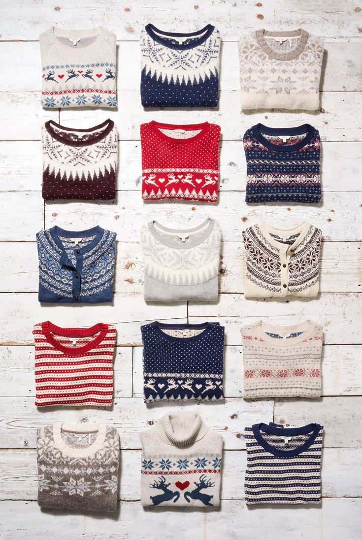 Add some festive fun to your wardrobe with cosy FatFace Christmas jumpers!   In seasonal prints and novelty knits for the whole family, they're perfect for the countdown for Christmas!