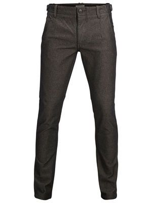 Two Geo herringbone pants C - Selected