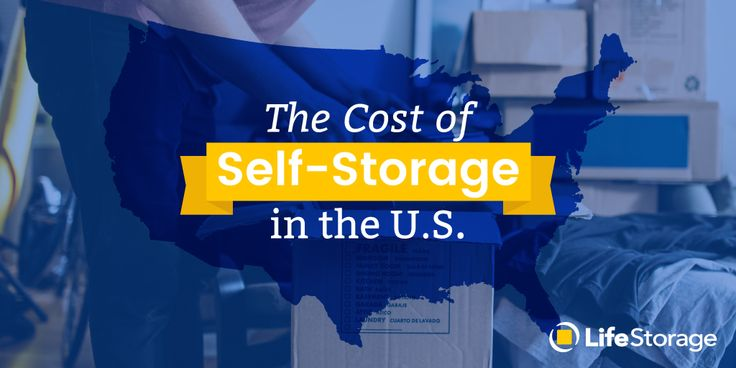 How much does a storage unit cost in your city? Storage costs vary significantly depending on your location. Click your city (or the city you're moving to) on our interactive map to find the average price of self storage near you.