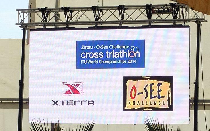 https://flic.kr/p/we27WD | Zittauer Gebirge und Olbersdorfer See,Triathlon WM in Zittau 2014 | ITU World Championships 2014 in Zittau in (Sachsen)