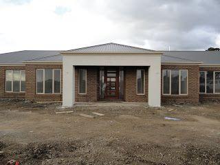 Image result for grey brick and surfmist modern house facades