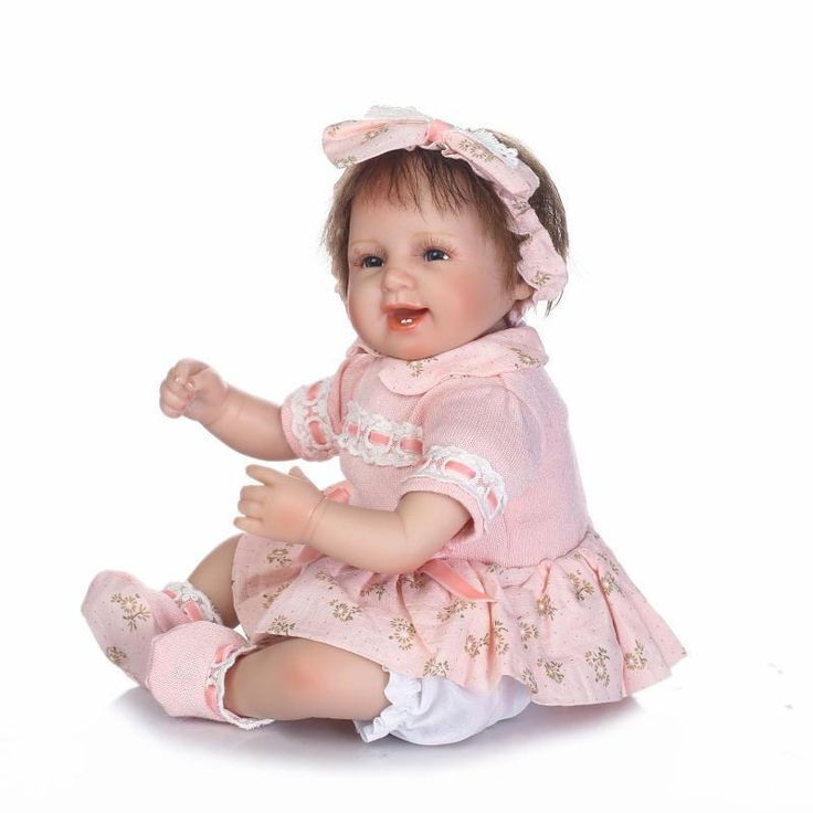 17'' Reborn Baby Dolls Soft Vinyl Cloth Body Real Life Baby Doll Kids Girl Gift | Dolls & Bears, Dolls, Reborn | eBay!
