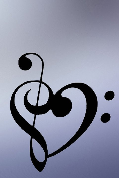 Heart music note. Lexie is this your tattoo