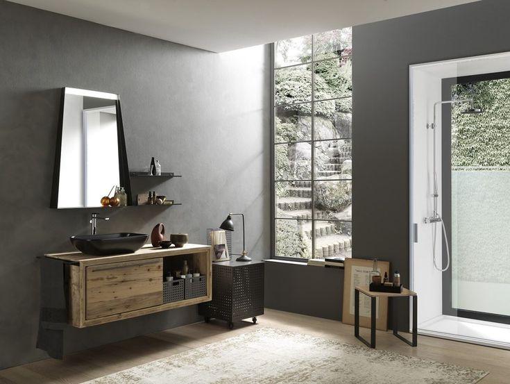 Bagno minimal ~ Arredo bagno nemi soluzione per piccoli bagni mobile da bagno