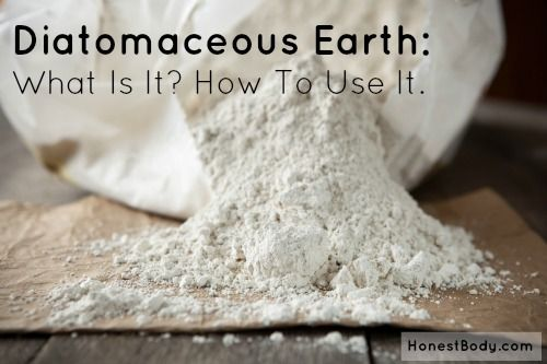 Diatomaceous Earth is natural treatment for parasites and heavy metals. This article explains what it is and how to use it.