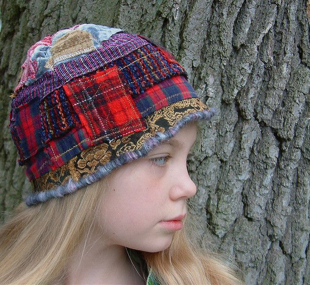 plaid hat by eanie meany, via Flickr