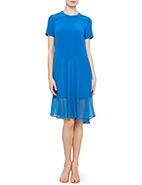 Gary Bigeni Mecca Dress  #davidjones #garybigeni #blue #style #sale #dress #sheer #fashion