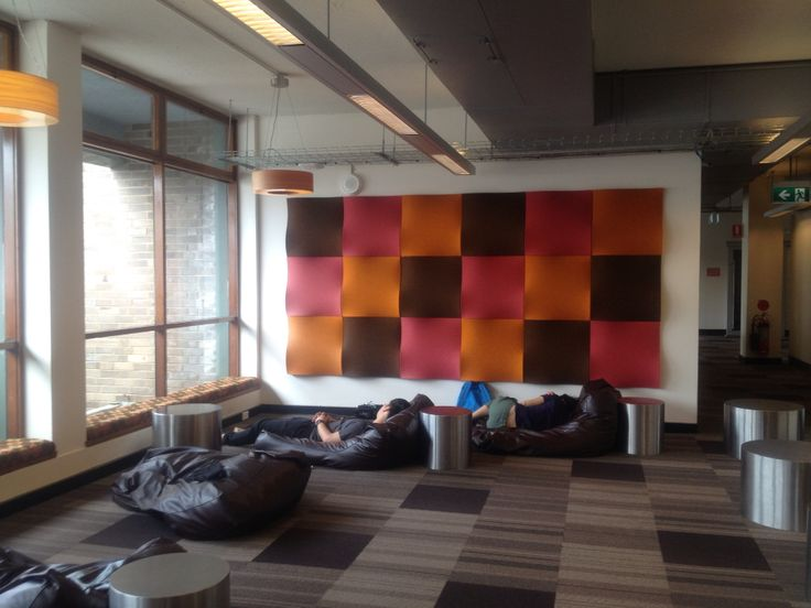 Study space at UNSW Library
