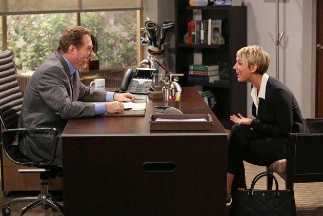 penny new haircut from big bang theory   Big Bang Theory' Premiere: Penny's New Haircut Fails to Impress ...