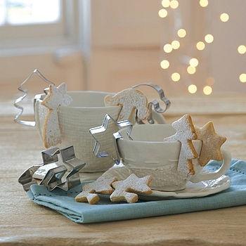 Mug adorning cookie cutters