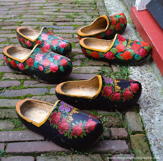 Traditional clogs from Marken. (photo Henk van der Leeden) #NoordHolland #Marken