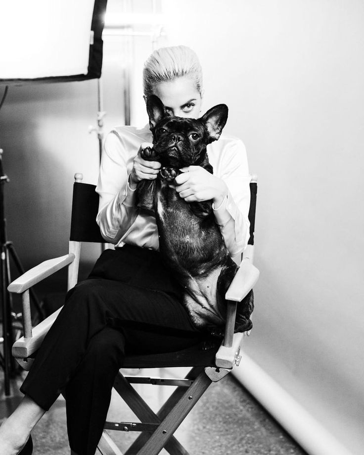 Lady Gaga and Asia on the set of Tiffany & Co