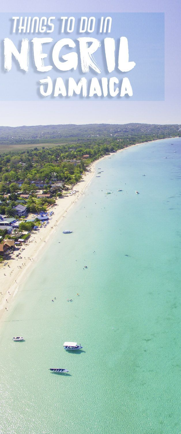 Whether you're a beach bum or an adventurer, there's no shortage of great things to do in Negril Jamaica. Located on the far western tip of Jamaica, Negril has stretches of long white sand beaches and also rocky cliffs, both surrounded by clear calms waters.