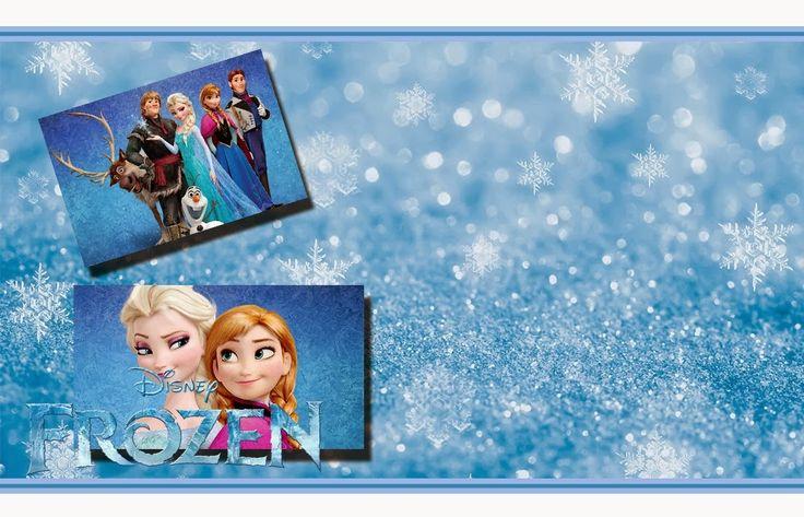 Preciosas Invitaciones de Frozen para Imprimir Gratis.   Ideas y material gratis para fiestas y celebraciones Oh My Fiesta!