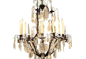 6 Popular Bronze Chandelier With Crystals