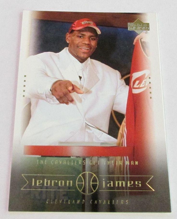 2003-04 UD LeBRON JAMES ROOKIE CARD #8 #ClevelandCavaliers