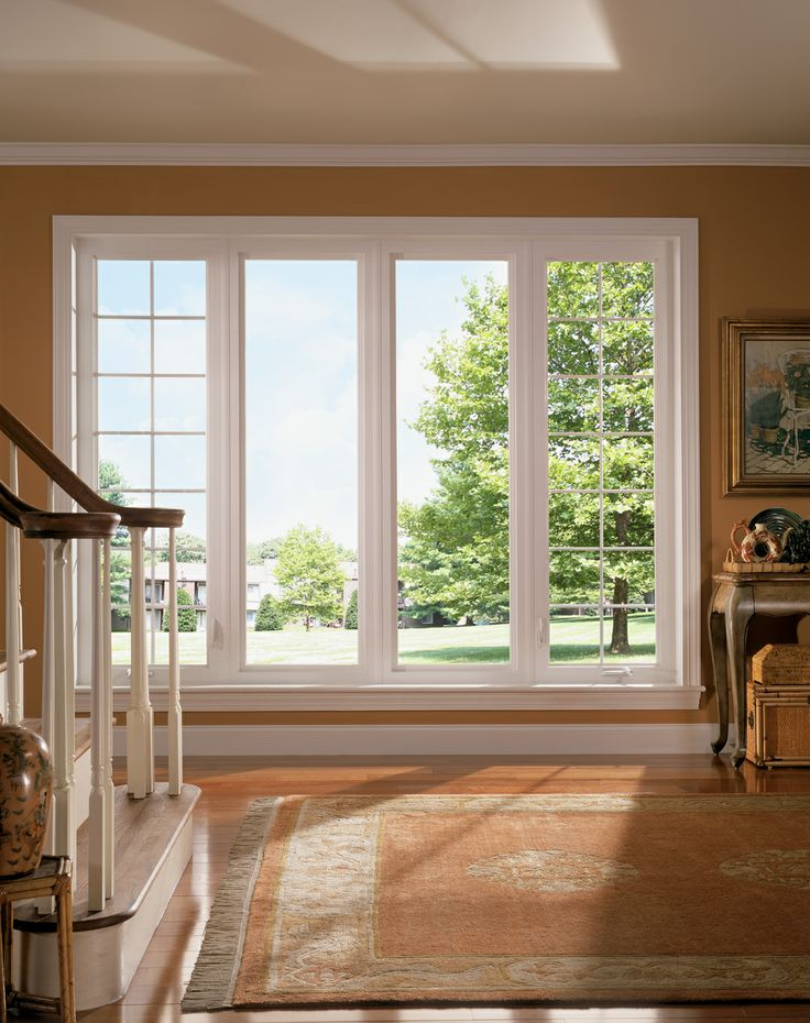 Brighten up any room in your home by installing large for Installing casement windows