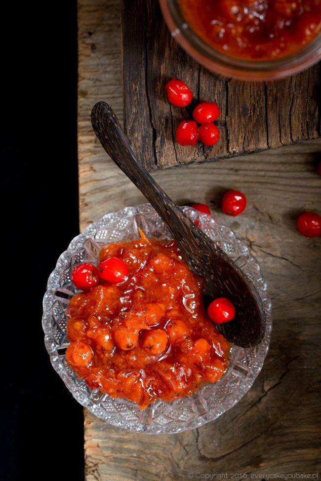 dżem z jarzębiny, rowanberry jam #jarzębina #dżem #przetwory #rowanberry #jam
