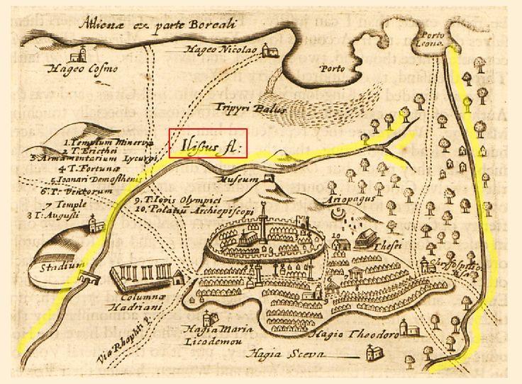 Στα τέλη του 19ου αιώνα, διέσχιζαν το λεκανοπέδιο 700 χείμαρροι, ποτάμια  και ρυάκια. Η οδός Σταδίου ήταν ποτάμι και μπαζώθηκε μαζί με τον ...