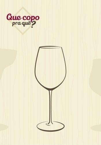 Taça vinho do porto: a taça para servir vinho do Porto tem formato parecido com a taça para tintos, porém é bem menor. Esse tipo de vinho precisa ser aerado, mas deve ser servido em pequenas doses, como um licor. O desenho da taça permite que o gosto da bebida fique na ponta da língua