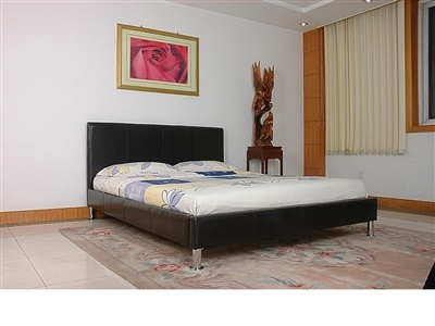 17900 heartlands kenneth bed frame available in cream brpwn or black and double - Discount Bed Frames