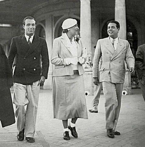 Bioy Casares, Ocampo y Borges - Argentina - Wikipedia, la enciclopedia libre