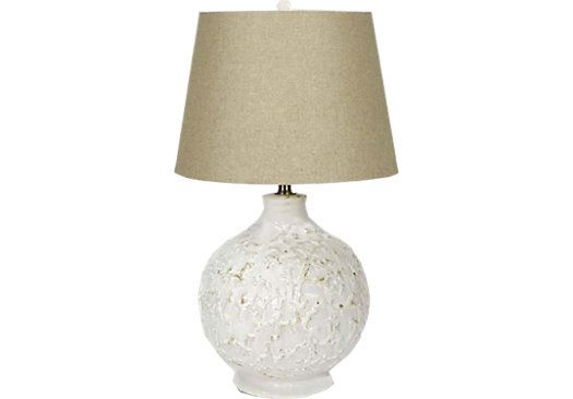 shop for a coral elements lamp at rooms to go find lamps that will look great in your home and. Black Bedroom Furniture Sets. Home Design Ideas