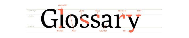 Glossary of Common Type Terminology