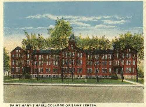 College of St. Teresa, Winona, MN, Sisters of Saint Francis of the Congregation of Lourdes, 1907-1989