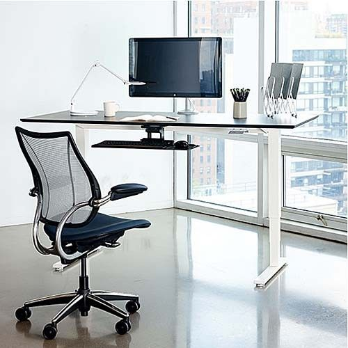 Ever wish you could sit or stand when working for long hours? Humanscale's Float Height-Adjustable Desk is an ergonomic sit-stand revolution, designed to improve health, comfort and productivity. http://www.yliving.com/humanscale-float-desk.html #YinTheWild