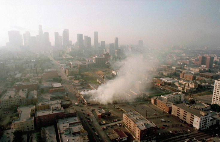 Le rivolte di Los Angeles, 25 anni fa - Il Post