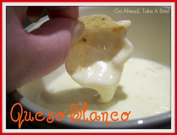 White cheese dip just like in the Mexican Restaurants!