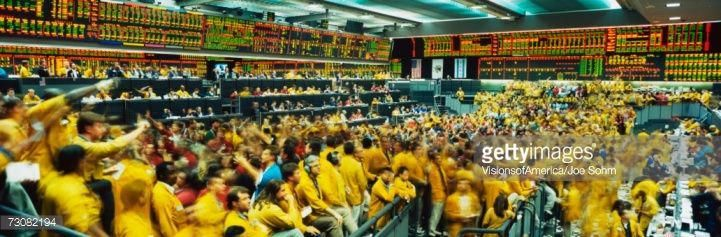 This Is The Chicago Mercantile Exchange Showing The Upper Trading Floor It Shows The Eurodollar F Chicago Mercantile Exchange Stock Market Mercantile Exchange