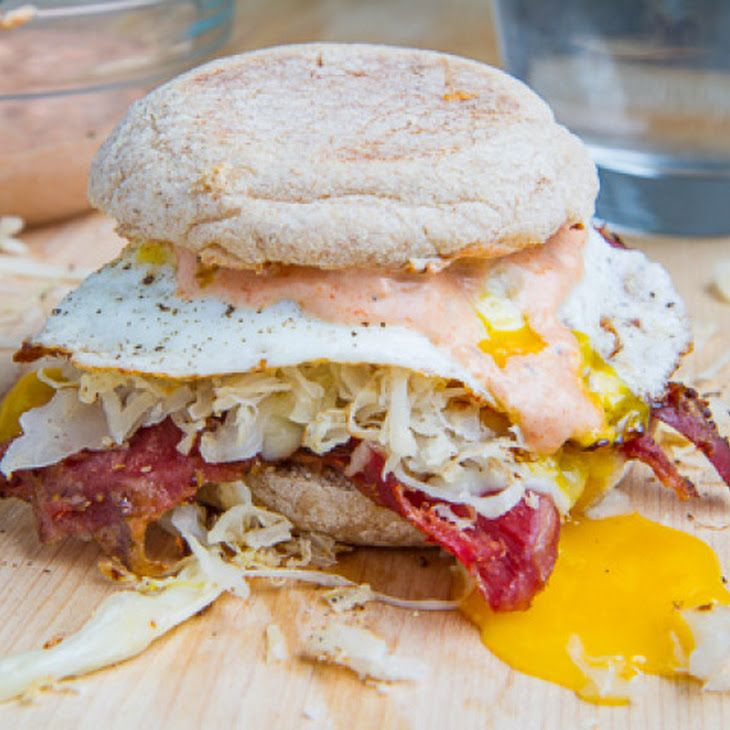Breakfast Reuben Sandwich Recipe | FOOD AND GOODIES! | Pinterest