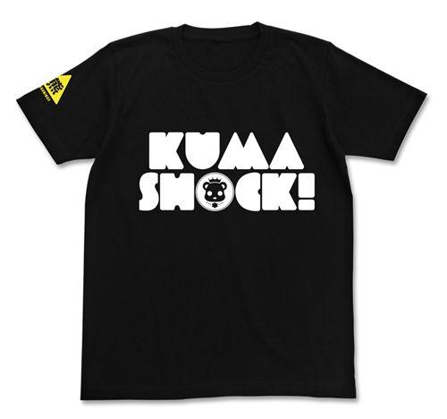 KUMA SHOCK! Tシャツ BLACK L [ユリ熊嵐]