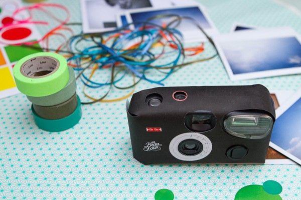 DIY- habillez un appareil photo jetable !