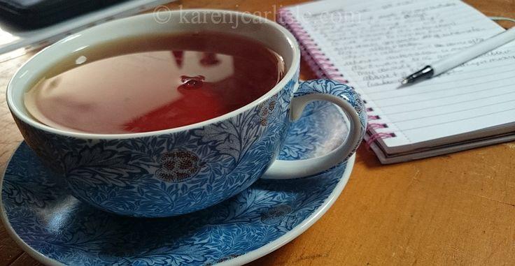 Day 7: classic blue pattern. Photo copyright 2016 Karen Carlisle.