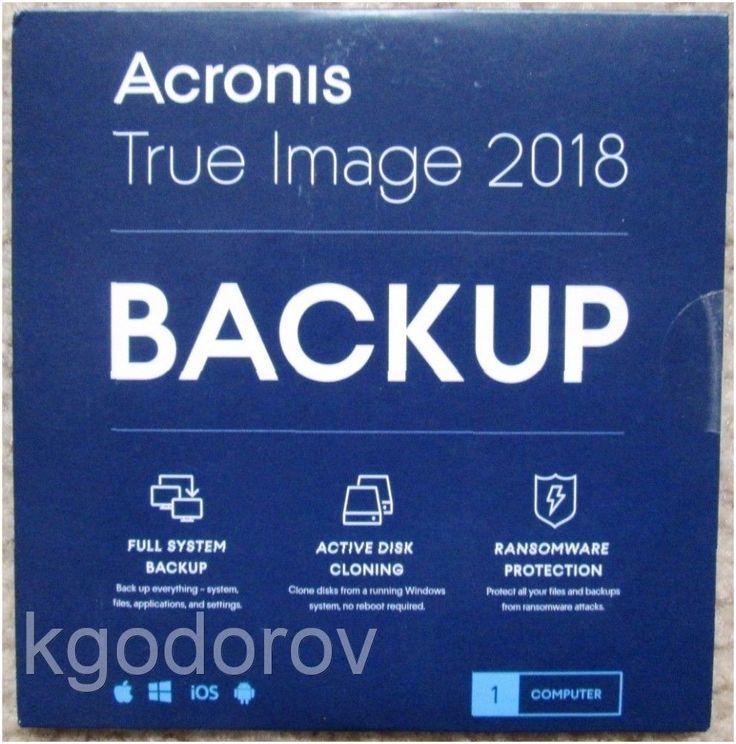 Acronis True Image 2018 PC Mac (1 Device)  CD Sleeve  Brand New http://ift.tt/2EGtfFe