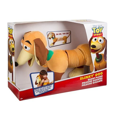 Scientific Explorer - Giant Slinky Dog Plush | Peter's of Kensington