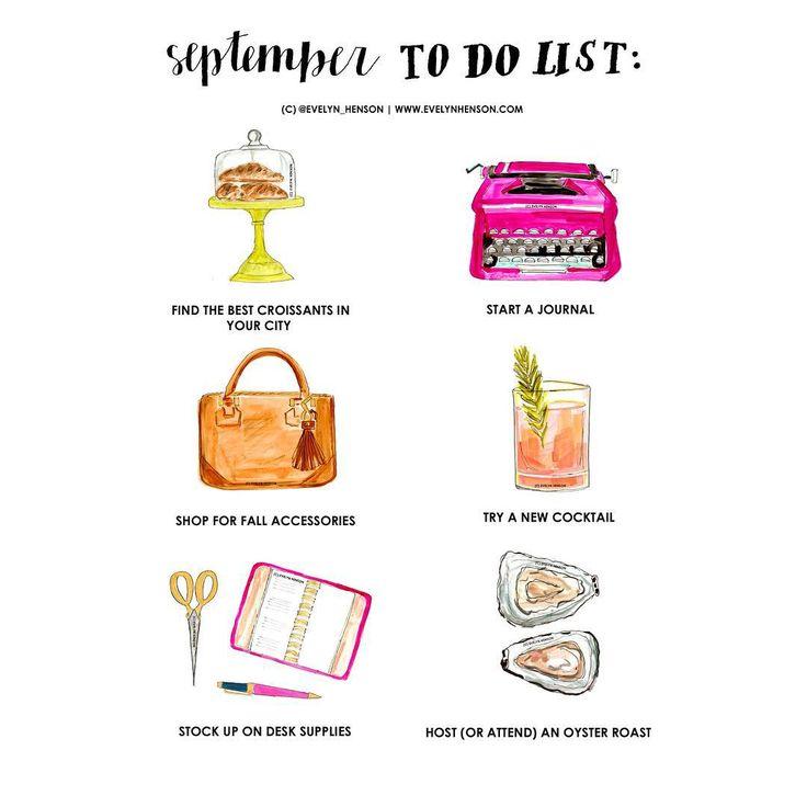 """on the blog >> the #brightlydecoratedlife september to do list!!"""