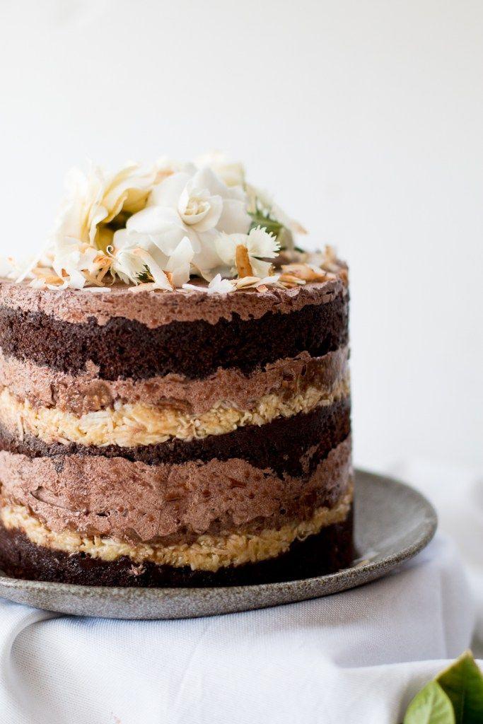 German Chocolate Cake With Espresso