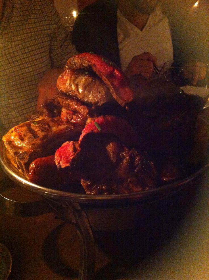 Dinner in freshly opened Chilean restaurant in Stockholm!