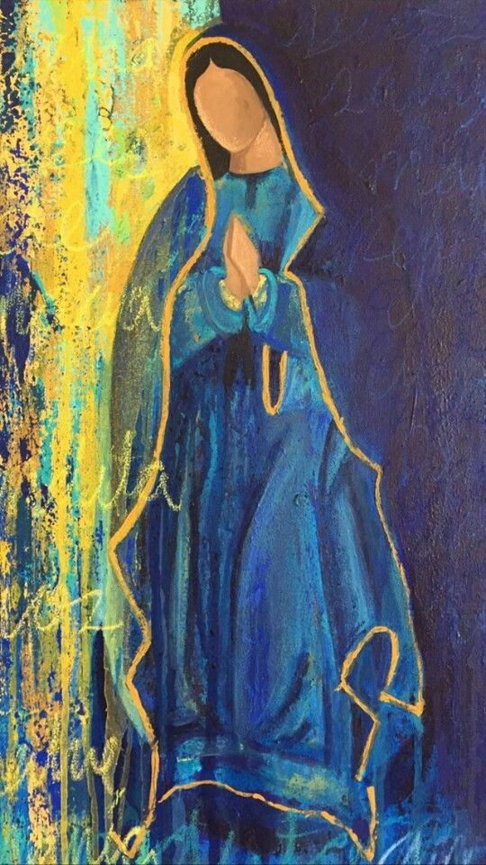 Virgen de Guadalupe Wallpaper Ig: @pintantoporahi