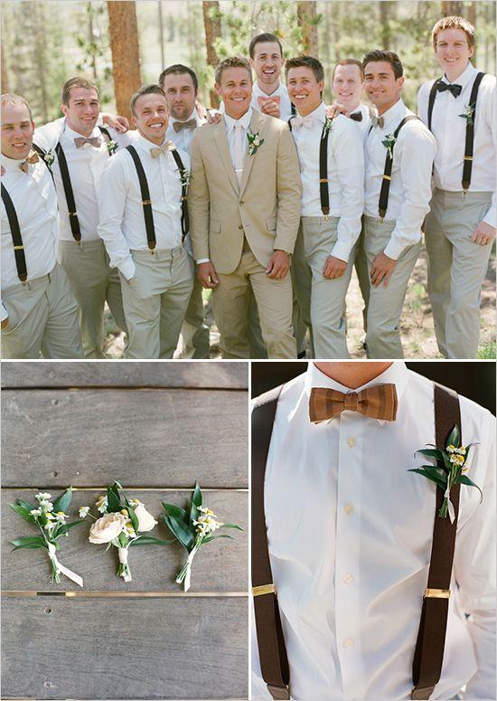 Best 20 rustic groomsmen attire ideas on pinterest for Casual wedding dresses for man