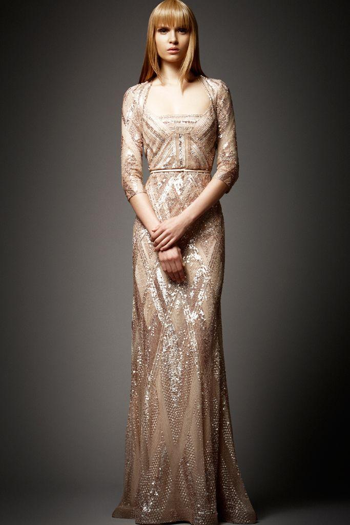 Gorgeous Gold Elie Saab Dress